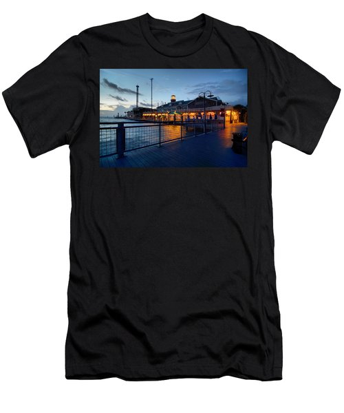 The Kemah Boardwalk Men's T-Shirt (Slim Fit) by Linda Unger