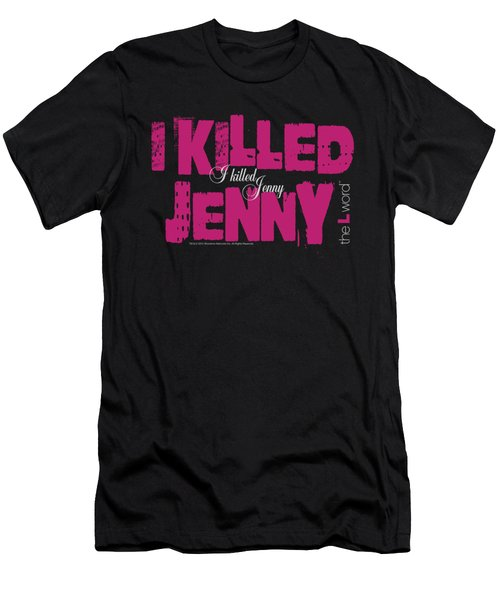 The L Word - I Killed Jenny Men's T-Shirt (Athletic Fit)