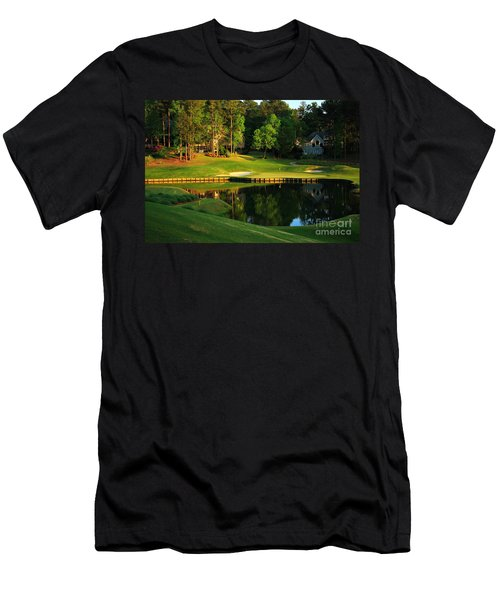 Golf At The Landing #3 In Reynolds Plantation On Lake Oconee Ga Men's T-Shirt (Athletic Fit)