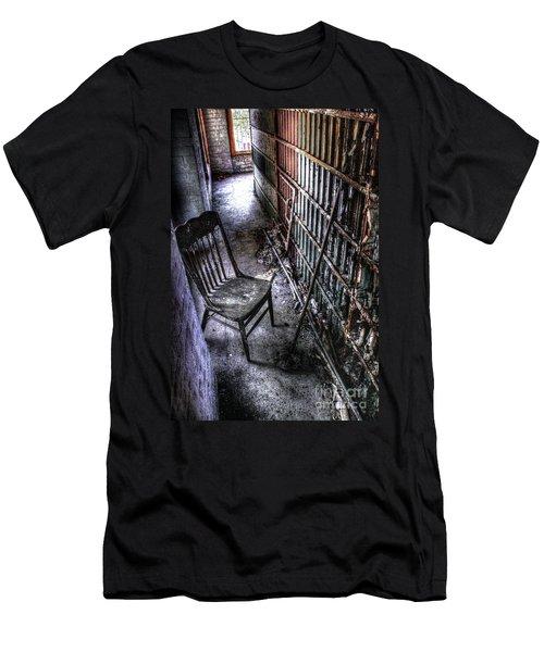 The Last Visitor Men's T-Shirt (Slim Fit) by Dan Stone