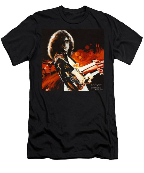 Stairway To Heaven. Jimmy Page  Men's T-Shirt (Athletic Fit)