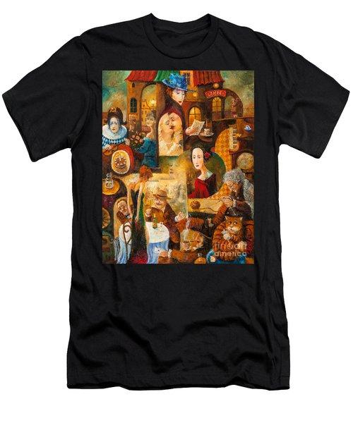 The Letter Men's T-Shirt (Athletic Fit)