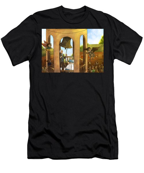 The Liberty Bell Men's T-Shirt (Athletic Fit)