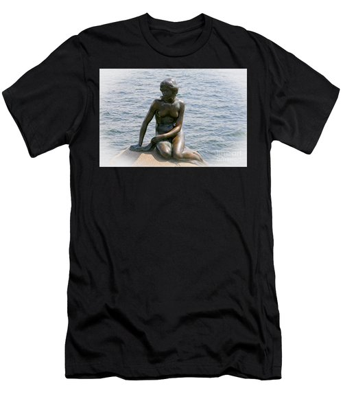 The Little Mermaid Of Copenhagen Men's T-Shirt (Athletic Fit)