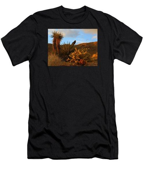 The Living Desert In Winter Men's T-Shirt (Athletic Fit)