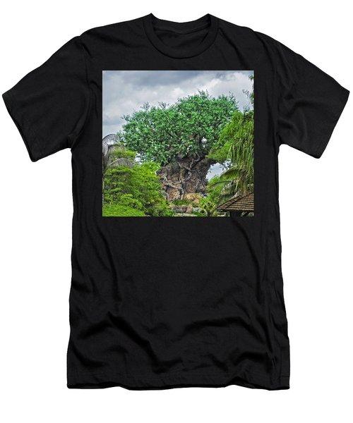 The Living Tree Walt Disney World Men's T-Shirt (Athletic Fit)