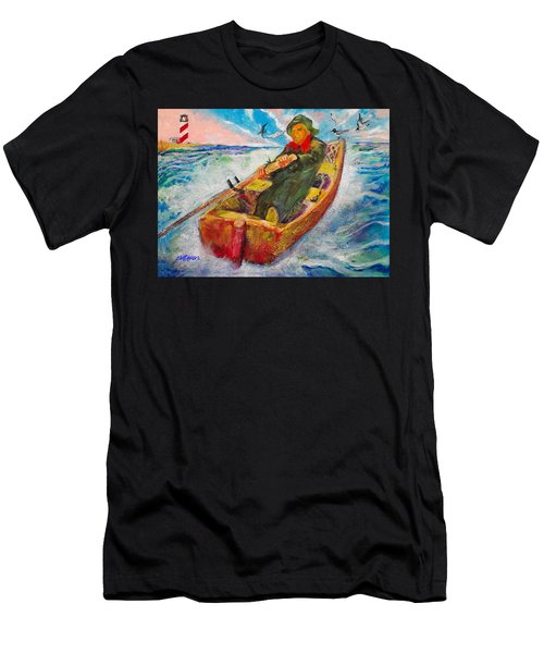 The Lone Boatman Men's T-Shirt (Athletic Fit)