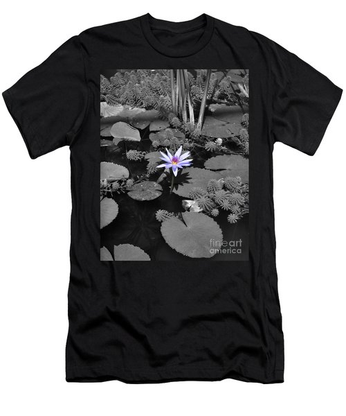 The Lone Flower Men's T-Shirt (Athletic Fit)