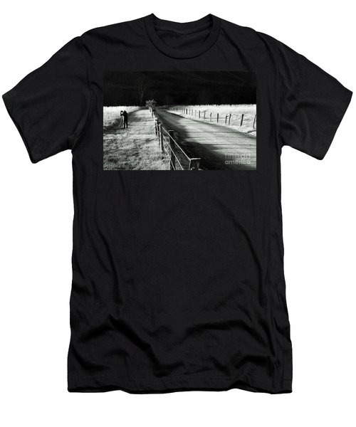 The Lone Photographer Men's T-Shirt (Athletic Fit)