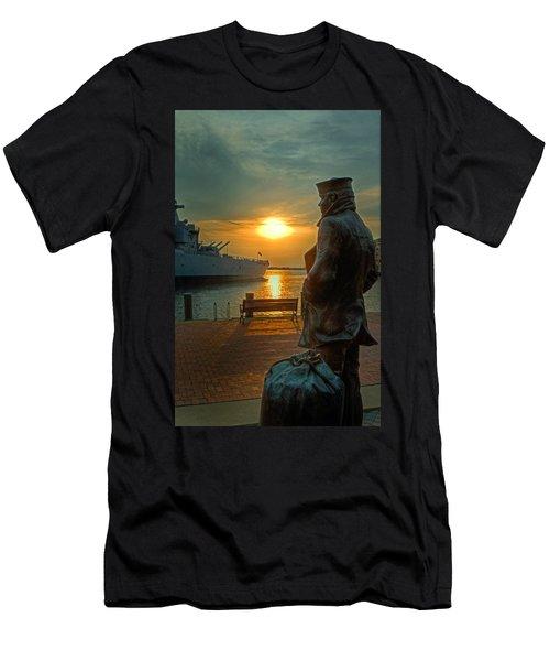 The Lone Sailor Men's T-Shirt (Athletic Fit)
