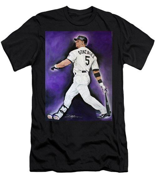 Carlos Gonzales Men's T-Shirt (Athletic Fit)