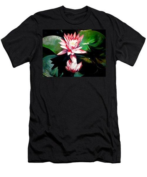 The Lotus Men's T-Shirt (Athletic Fit)