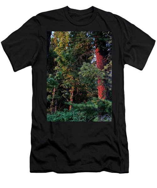 Men's T-Shirt (Slim Fit) featuring the photograph The Magic Hour by Natalie Ortiz