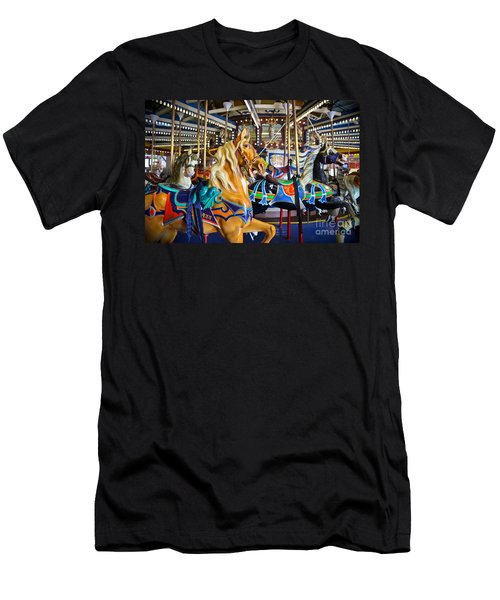 The Magical Machine - Carousel Men's T-Shirt (Athletic Fit)