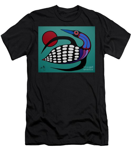 The Majestic Loon Men's T-Shirt (Athletic Fit)
