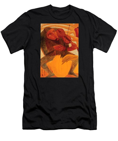 The Man And Mouse Men's T-Shirt (Athletic Fit)