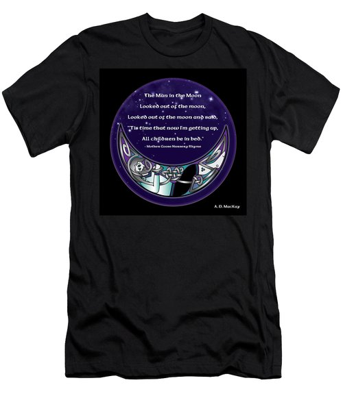 The Man In The Moon Men's T-Shirt (Athletic Fit)