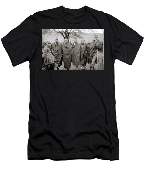 The Masai Men's T-Shirt (Slim Fit) by Shaun Higson