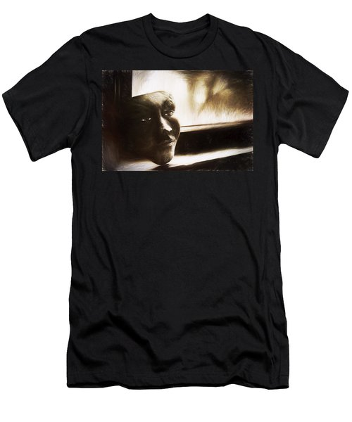 The Mask Sketch Men's T-Shirt (Athletic Fit)