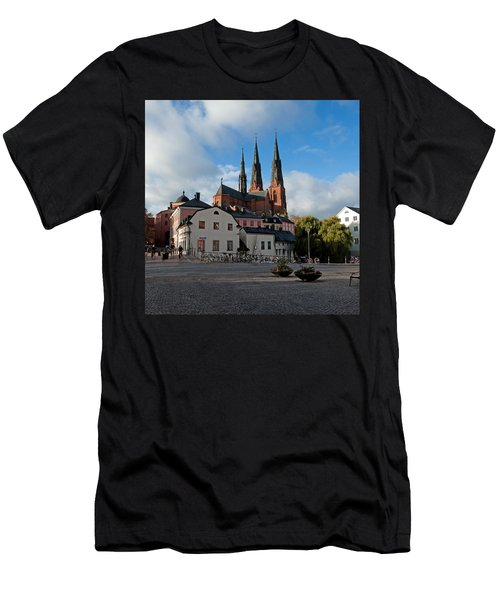 The Medieval Uppsala Men's T-Shirt (Slim Fit) by Torbjorn Swenelius