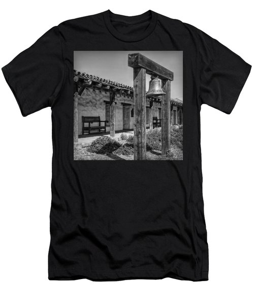 The Mission Bell B/w Men's T-Shirt (Athletic Fit)
