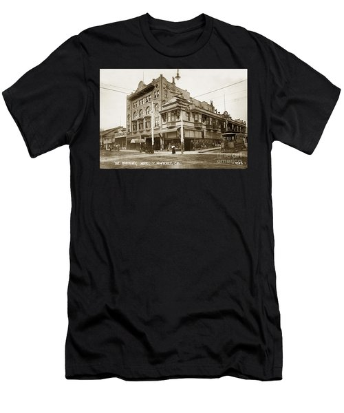 The Monterey Hotel 1904 The Goldstine Block Building 1906 Photo  Men's T-Shirt (Athletic Fit)