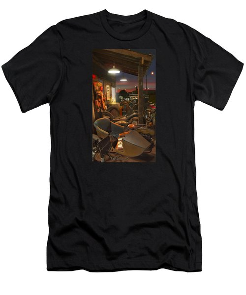 The Motorcycle Shop 2 Men's T-Shirt (Athletic Fit)