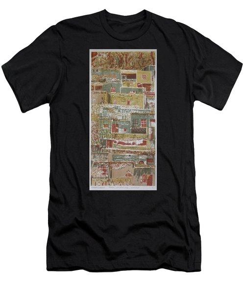 The Mountain Village Men's T-Shirt (Athletic Fit)