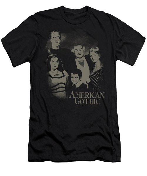 The Munsters - American Gothic Men's T-Shirt (Athletic Fit)