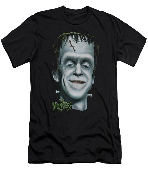 The Munsters - Herman's Head Men's T-Shirt (Athletic Fit)