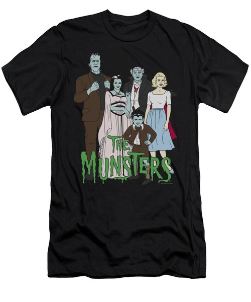 The Munsters - The Family Men's T-Shirt (Athletic Fit)