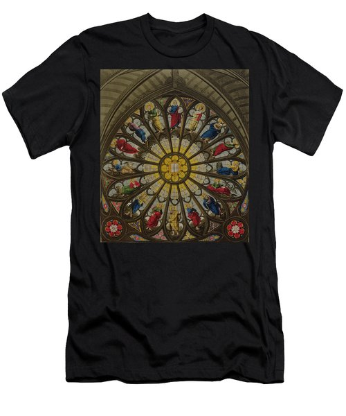 The North Window Men's T-Shirt (Slim Fit) by William Johnstone White