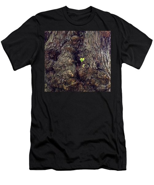 Men's T-Shirt (Slim Fit) featuring the photograph The Old And The New by Becky Lupe