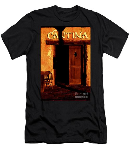 The Old Cantina Men's T-Shirt (Slim Fit) by Paul W Faust -  Impressions of Light