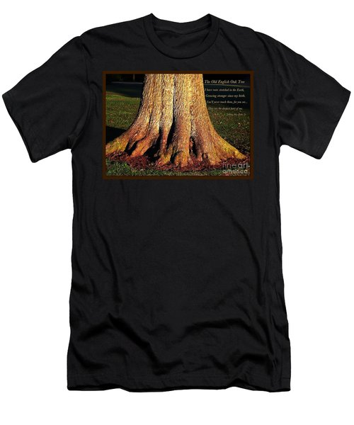 The Old English Oak Tree Men's T-Shirt (Athletic Fit)