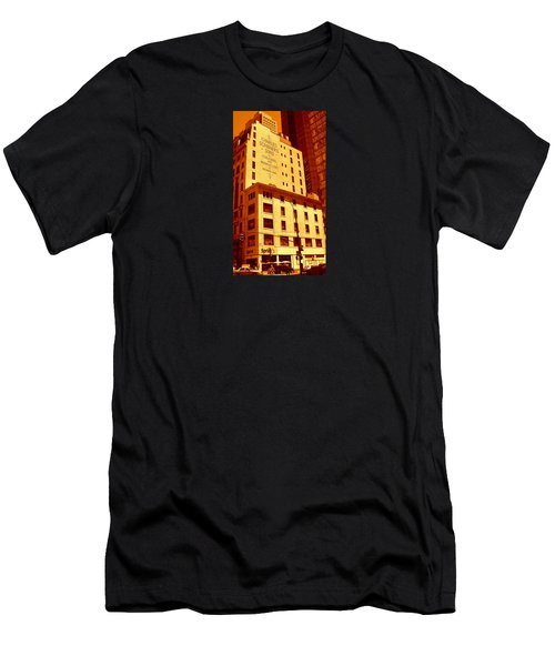 The Old Good Days In Manhattan Men's T-Shirt (Athletic Fit)