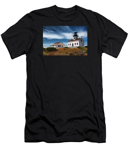 The Old Point Loma Lighthouse By Diana Sainz Men's T-Shirt (Athletic Fit)