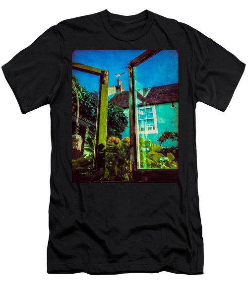 Men's T-Shirt (Slim Fit) featuring the photograph The Open Window by Chris Lord