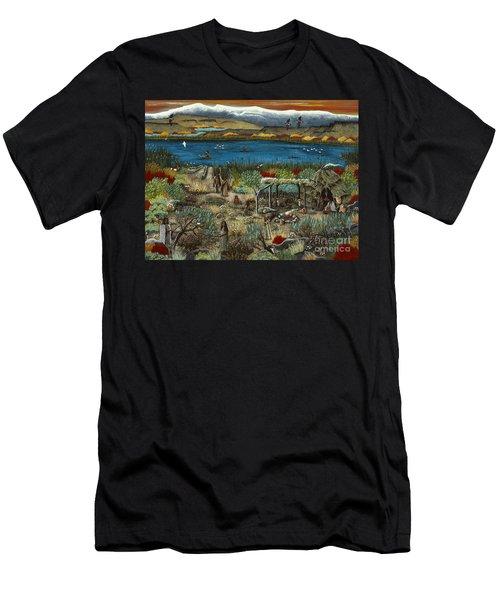 The Oregon Paiute Men's T-Shirt (Athletic Fit)