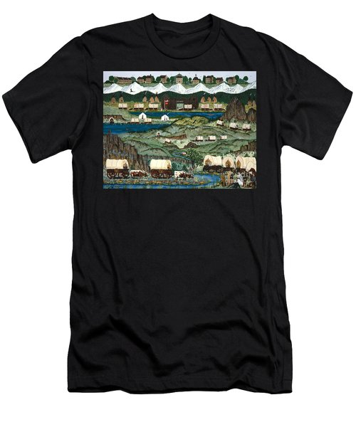 The Oregon Trail Men's T-Shirt (Athletic Fit)