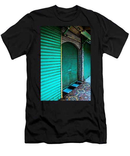 Marrakech Aqua Men's T-Shirt (Athletic Fit)