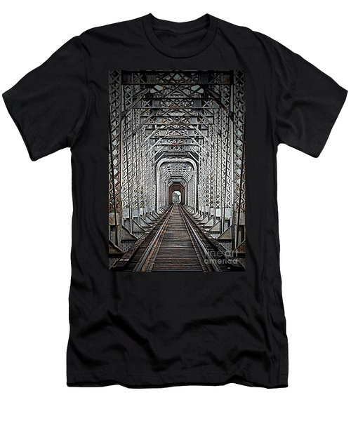 Men's T-Shirt (Slim Fit) featuring the photograph The Other Side  by Barbara Chichester