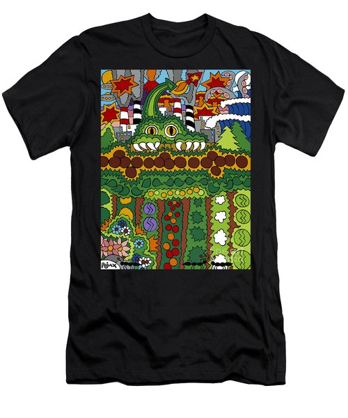The Other Side Of The Garden  Men's T-Shirt (Athletic Fit)