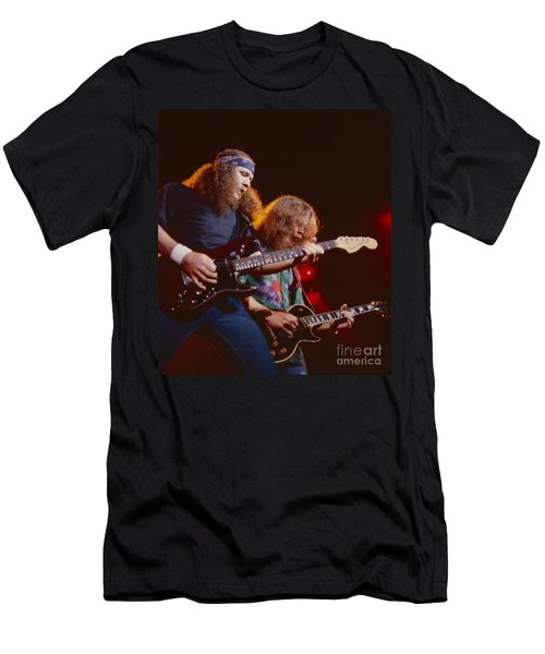 The Outlaws - Hughie Thomasson And Billy Jones Men's T-Shirt (Athletic Fit)