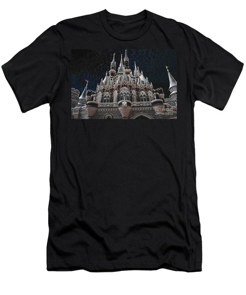 Men's T-Shirt (Slim Fit) featuring the photograph The Palace by Robert Meanor