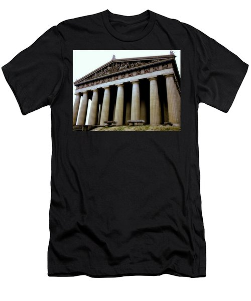 The Parthenon Nashville Tn Men's T-Shirt (Athletic Fit)