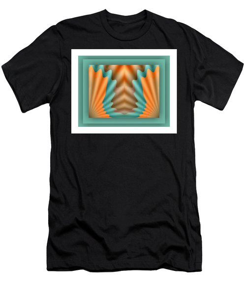 Men's T-Shirt (Athletic Fit) featuring the digital art The Pendant by Mihaela Stancu