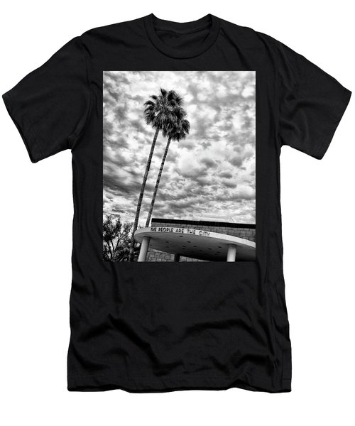 The People Are The City Palm Springs City Hall Men's T-Shirt (Athletic Fit)