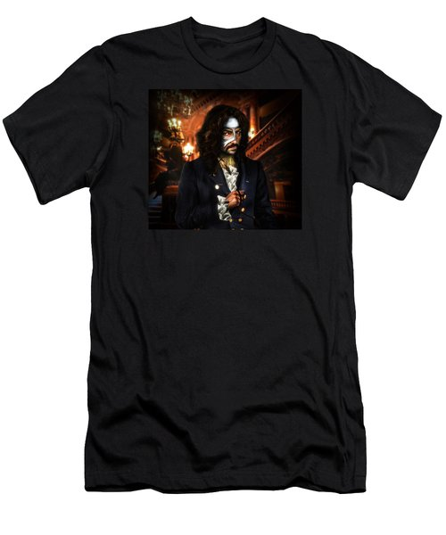 The Phantom Of The Opera Men's T-Shirt (Slim Fit) by Alessandro Della Pietra