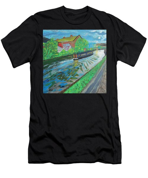 The Pickle - Grand Union Canal Men's T-Shirt (Athletic Fit)